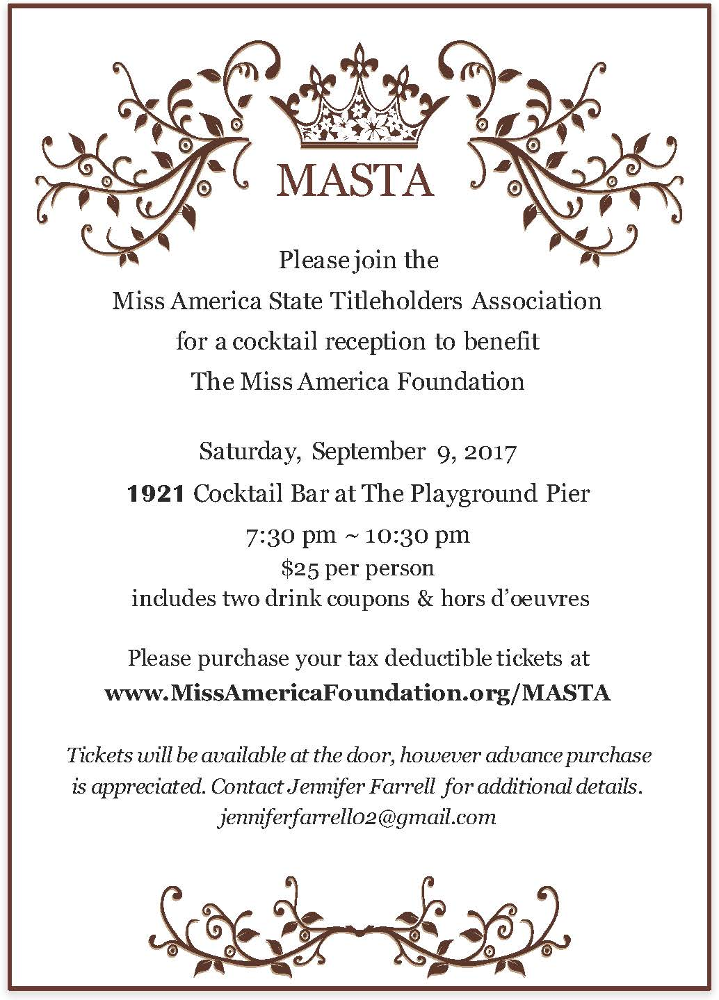 2018 MASTA INVITE
